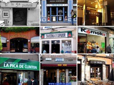 Divertidos Nomes de Bares e Restaurantes