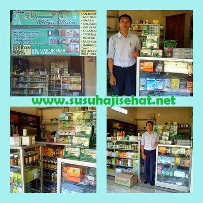 Kunjungan ke Agen Susu Haji Sehat Cileungsi Bogor Jawa Barat