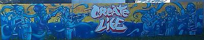 Create Life Tagger Art, Oakland Temescal