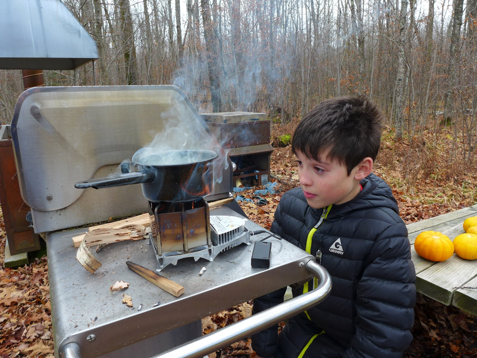 """ FULL ON "": Winter Camping Symposium 2015"