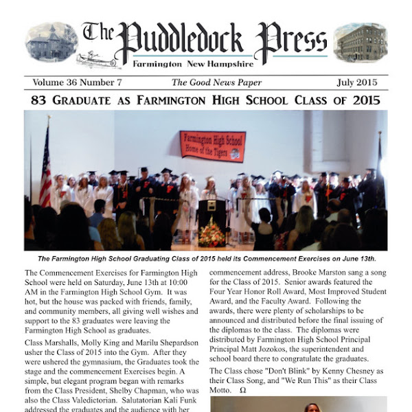 July Issue of the Puddledock Press is Now Available