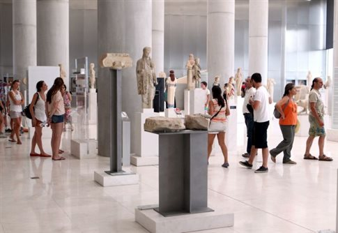 Αύξηση επισκεπτών και εισπράξεων στα μουσεία τον Ιούλιο