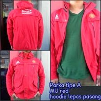 Jaket Parka MU Red