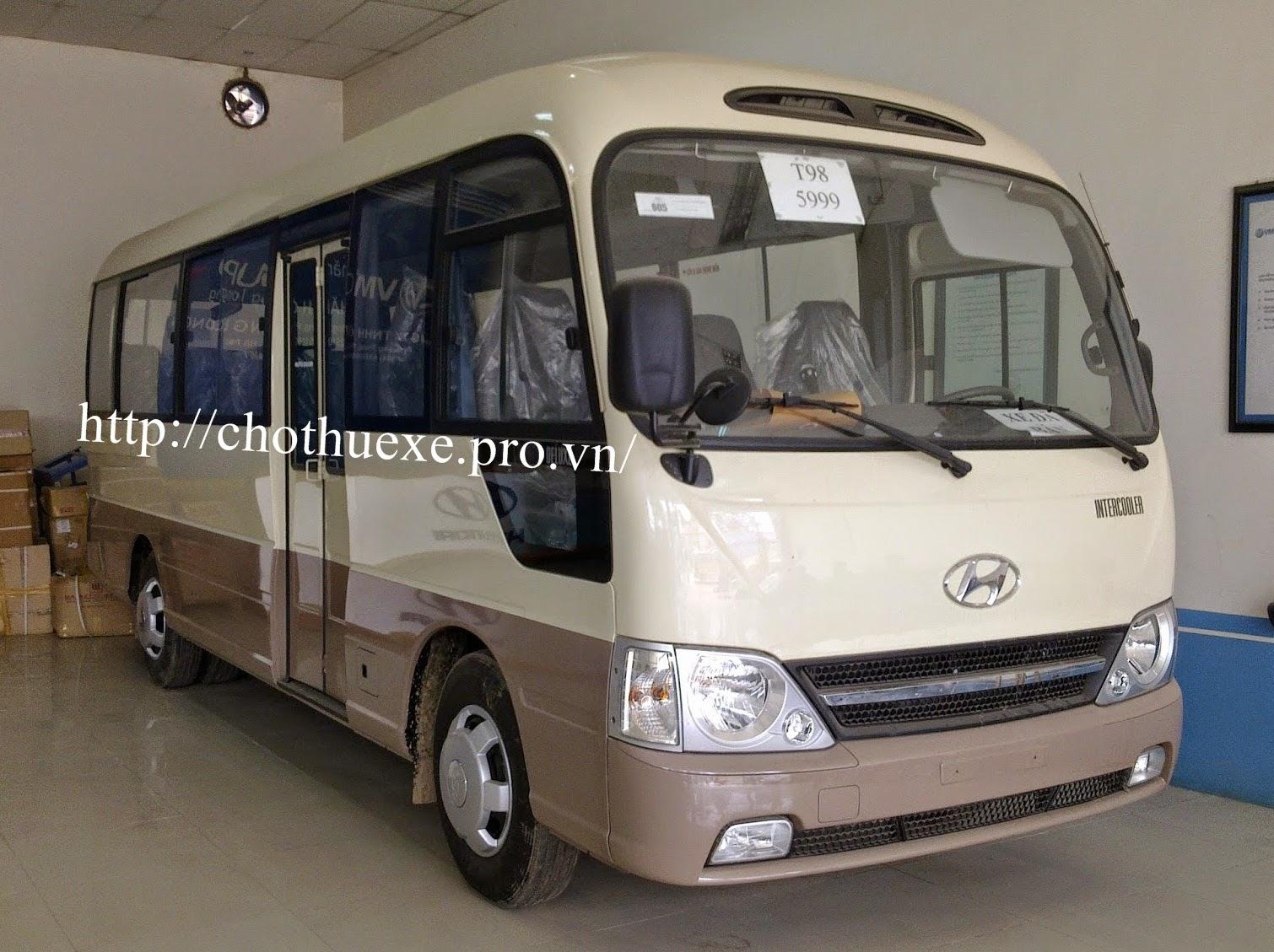 Cho thuê xe ô tô 29 - 30 chỗ ngồi tại Hà Nội đời mới