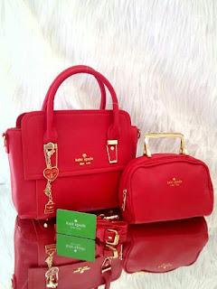 Tas KW Kate Spade Charine 2in1 Semi Premium 9193AR Jakarta