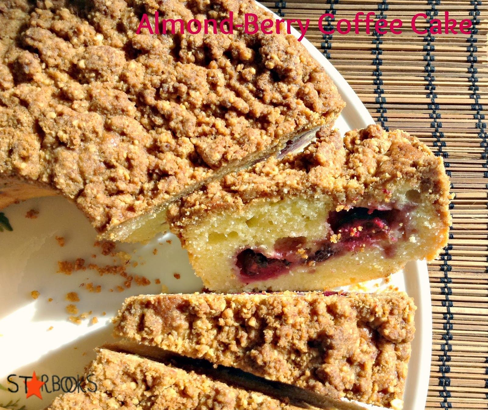 Starbooks: ALMOND-BERRY COFFEE CAKE - TORTA DI LAMPONI E ...