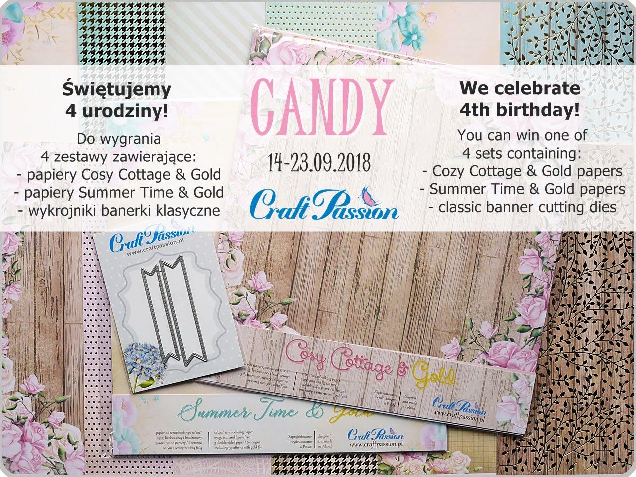 CANDY URODZINOWE / BIRTHDAY CANDY