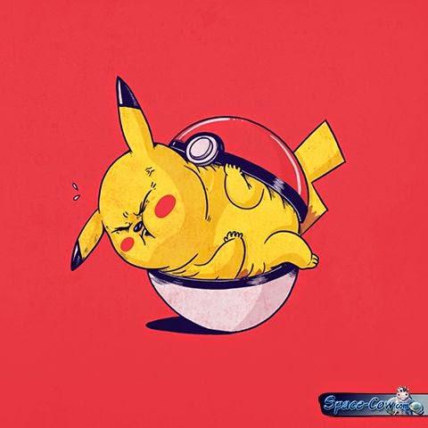 funny comics Pikachu picture