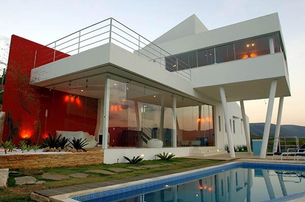 Fachadas de casas modernas fachadas de casas y casas por for Casas contemporaneas modernas