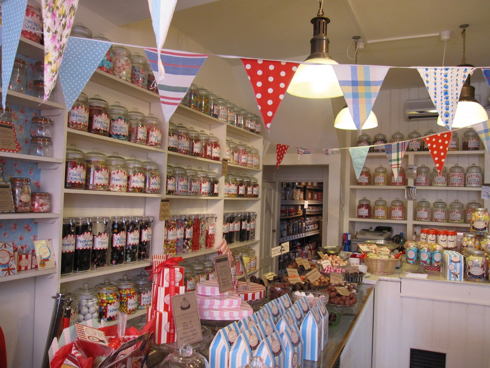 My Vintage Vows An Old Fashioned Sweet Shop