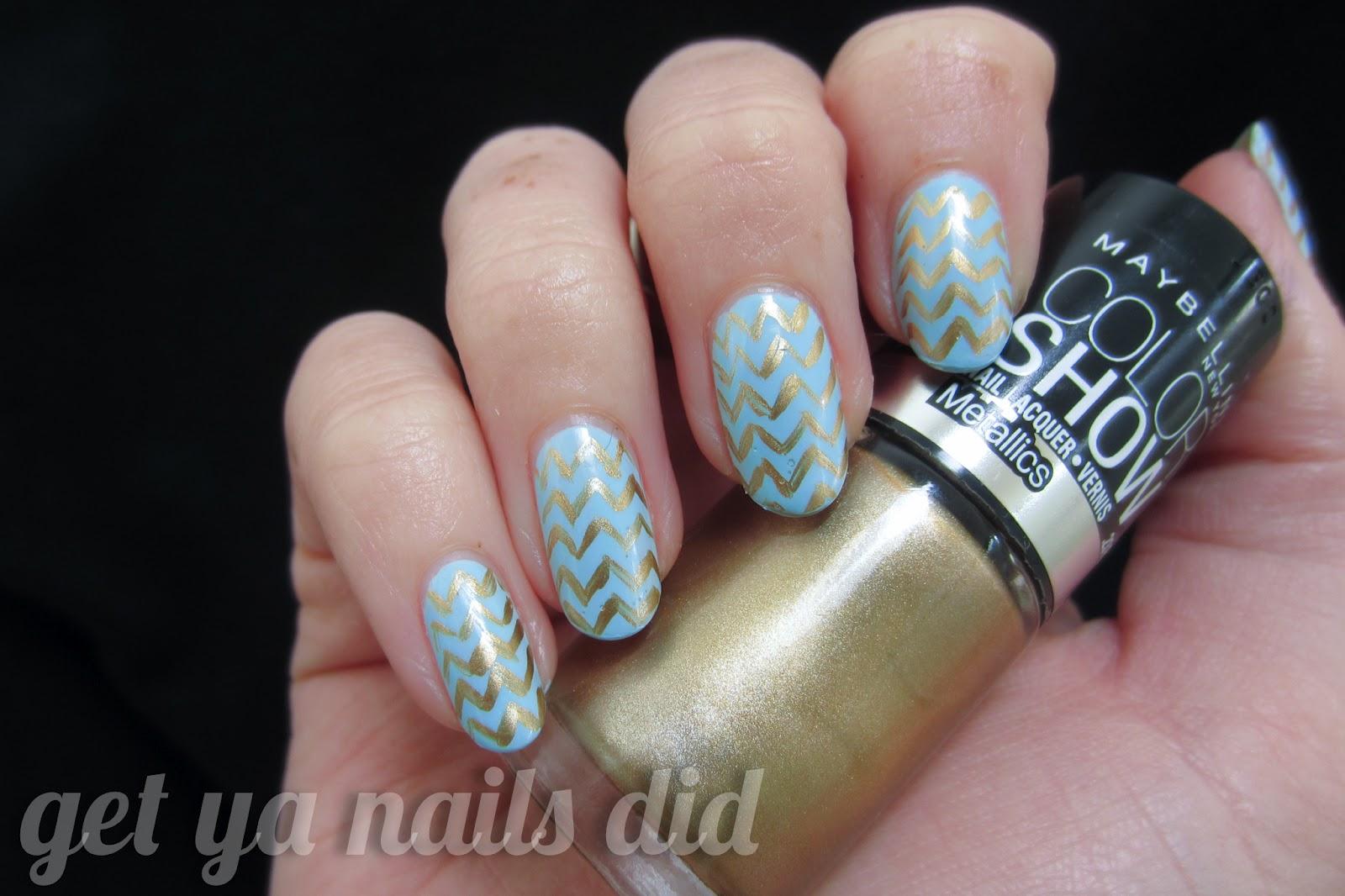 get ya nails did: weddin\' bells