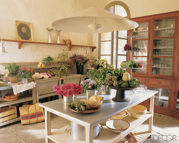 D cor de provence rustic kitchen - Country kitchen design ...