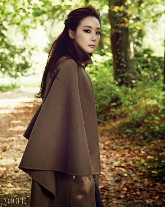 Choi Ji Woo - Vogue Magazine November Issue 2014