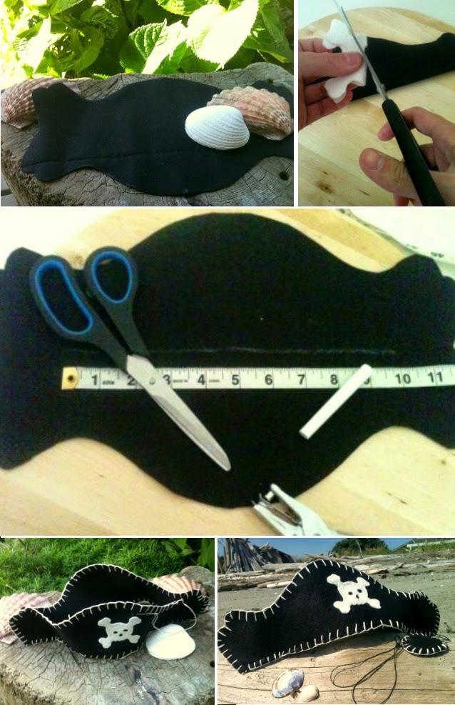 Как сделать шляпу пирата сделай сам 632
