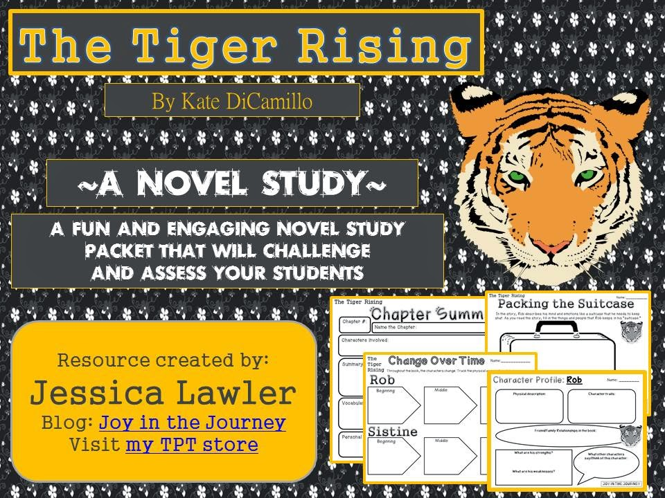 Must Read Mentor Text The Tiger Rising Joy In The Journey