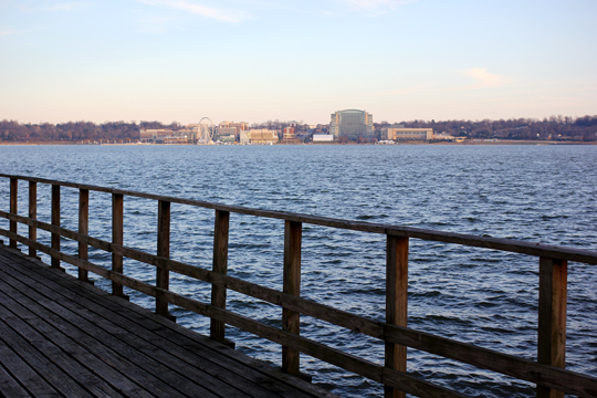 Pier at Jones Point Park, Alexandria, VA