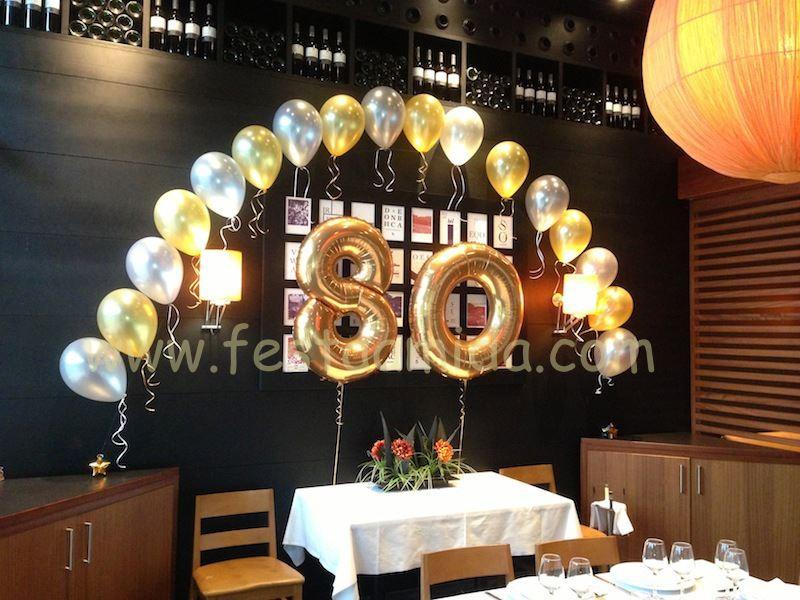Festa a mida participa en el concuro decoraci n con globos for Decoracion con globos 50 anos
