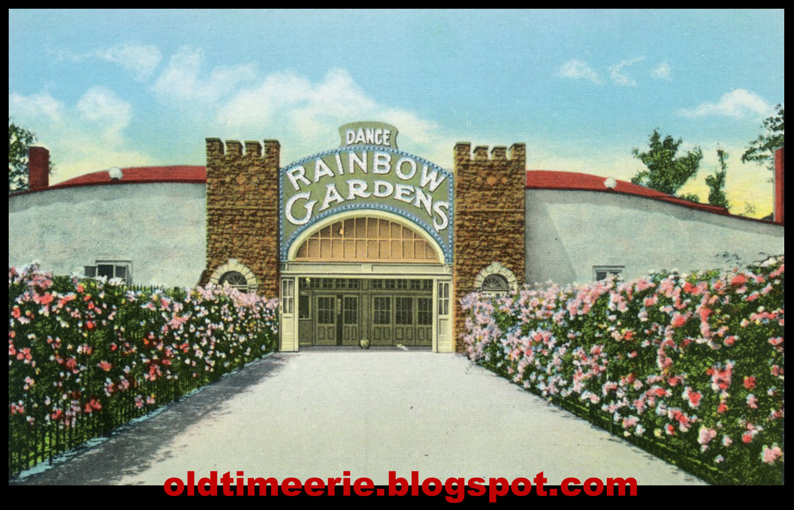 old time erie rainbow gardens at waldameer park erie pa