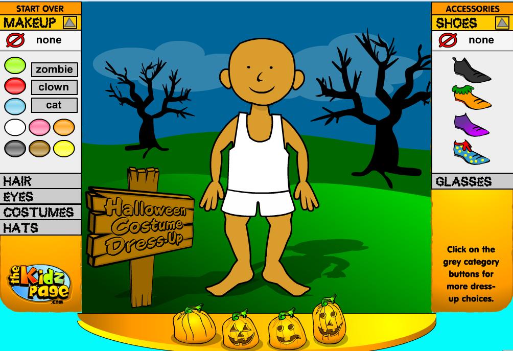 http://www.thekidzpage.com/freeonlinetoys/jackolantern-dressup/kidshalloweendressupgame.swf