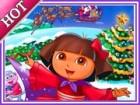 Christmas Dora Online Puzzle