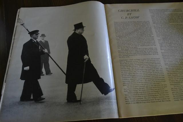 Flashback Summer- Spring Giveaway, 1963 Look magazine, churchill