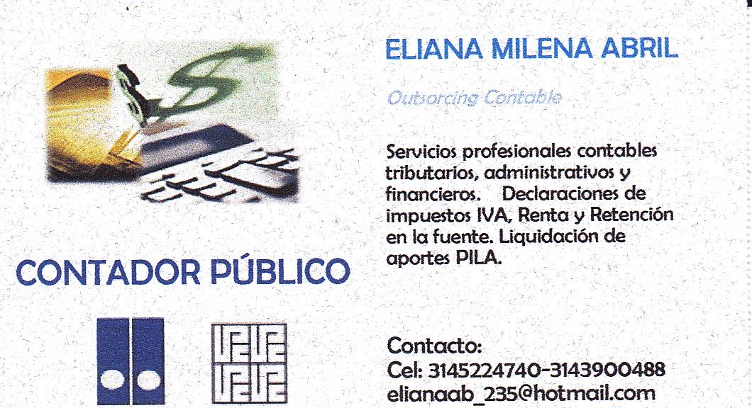 Contaduría Pública: ACERCA DE MI