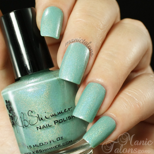 KBShimmer Mint-al Vacation Swatch