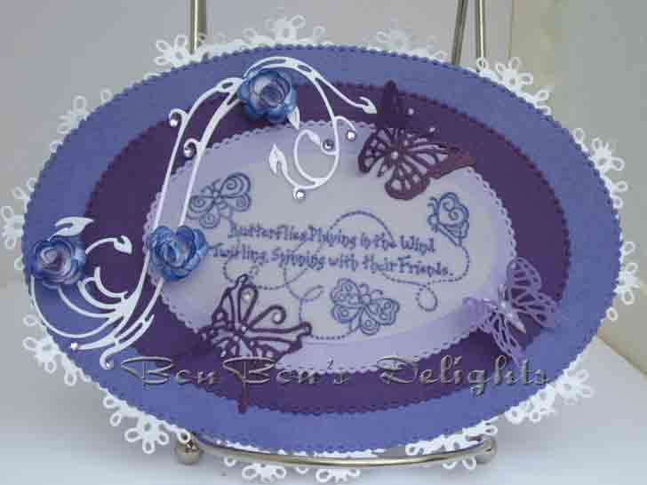 Border die lace rose flourish border cheery lynn border die lace rose - Cheery Lynn Designs Challenge 27 Shades Of Purple