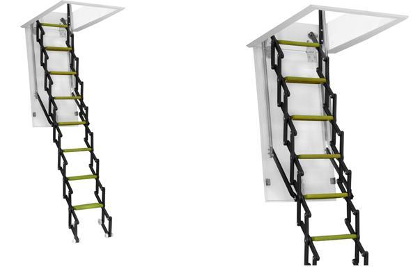 Fotos de escaleras escaleras escamoteables precios - Escaleras telescopicas precios ...