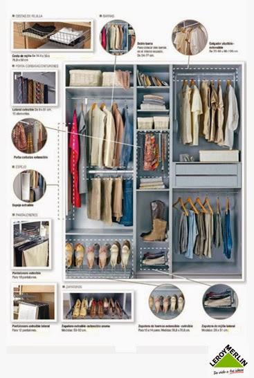 Trucos para organizar tu armario esta temporada mi casa - Organizacion armarios ...
