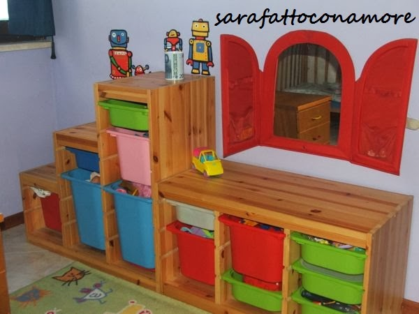 Mobili Portagiochi Per Bambini : Sarafattoconamore: la nostra casa a misura di bimbo cameretta