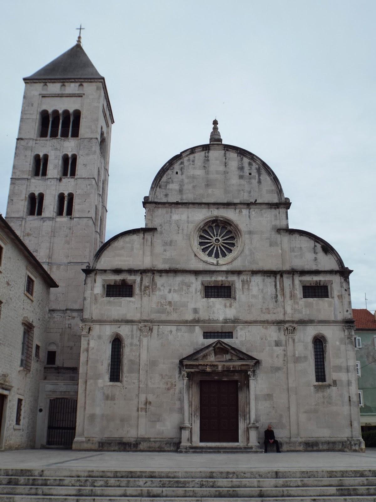 St Mary's Benedictine Church, Zadar, Croatia - photo by Katie @ Second-Hand Hedgehog travel blog