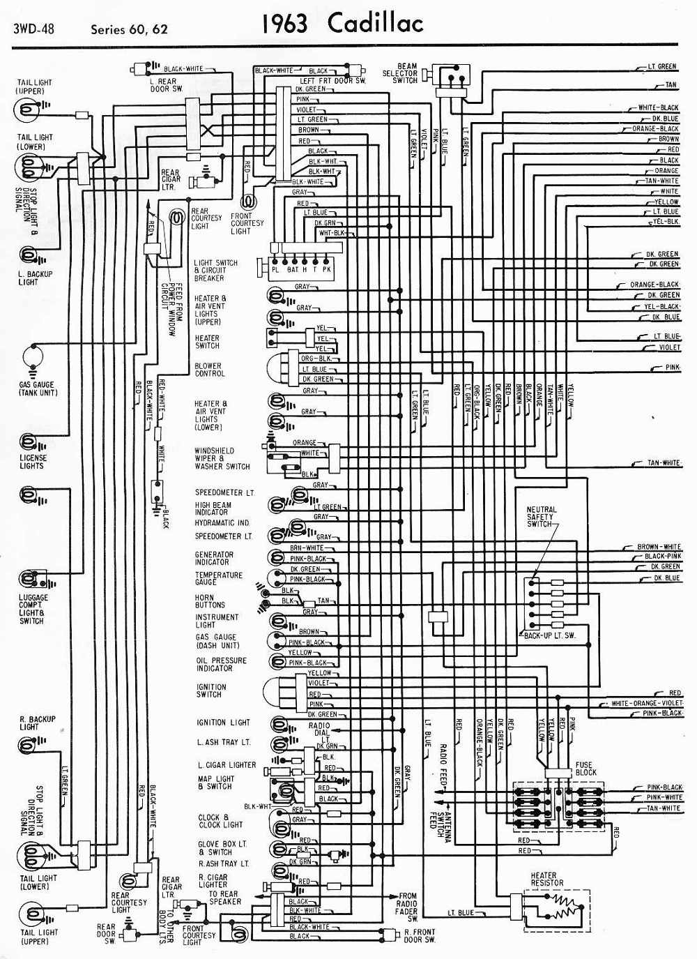 Wiring+Diagrams+schematics+1963+Cadillac+Series+60+And+62+Part+1 wiring diagrams schematics 1963 cadillac series 60 and 62 part 1