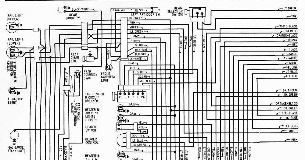 1970 Cadillac Wiring Diagram  Cadillac  Wiring Diagram Images