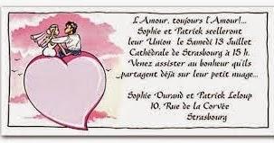 Texte faire part mariage huoumristique texte faire part - Texte felicitation mariage humour ...