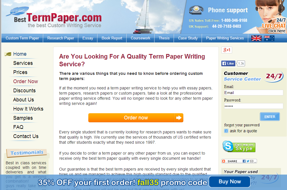 Best writing service discount code