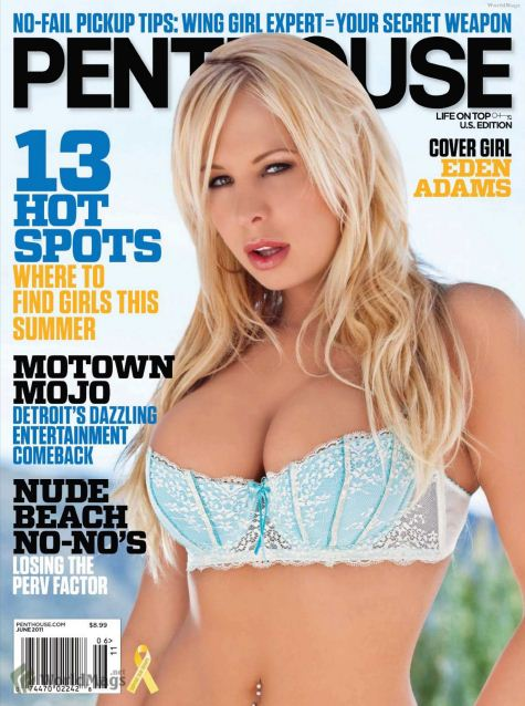 Penthouse Magazine Porn Stars USA - June 2011