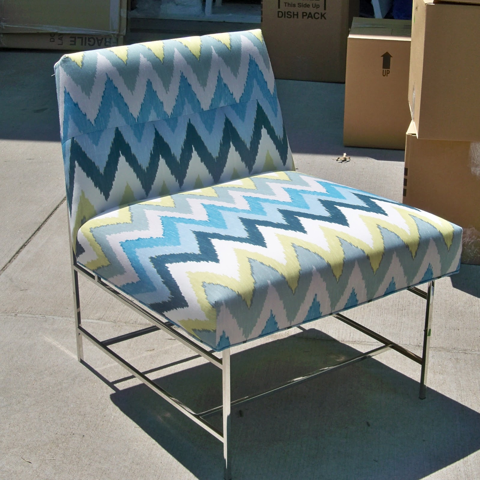 The Chairs Shown In This Post Are On Their Way To A Clientu0027s Home In  Ireland. I Took The Photos On My Clientu0027s Drive Way And In The Garage The  Day The ...