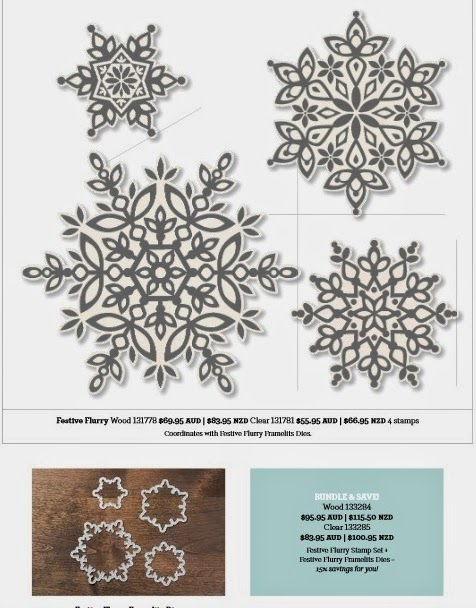 Snowflake bundle from holiday carryover list