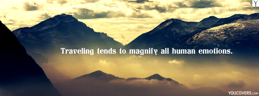 Travel Quotes Facebook Covers