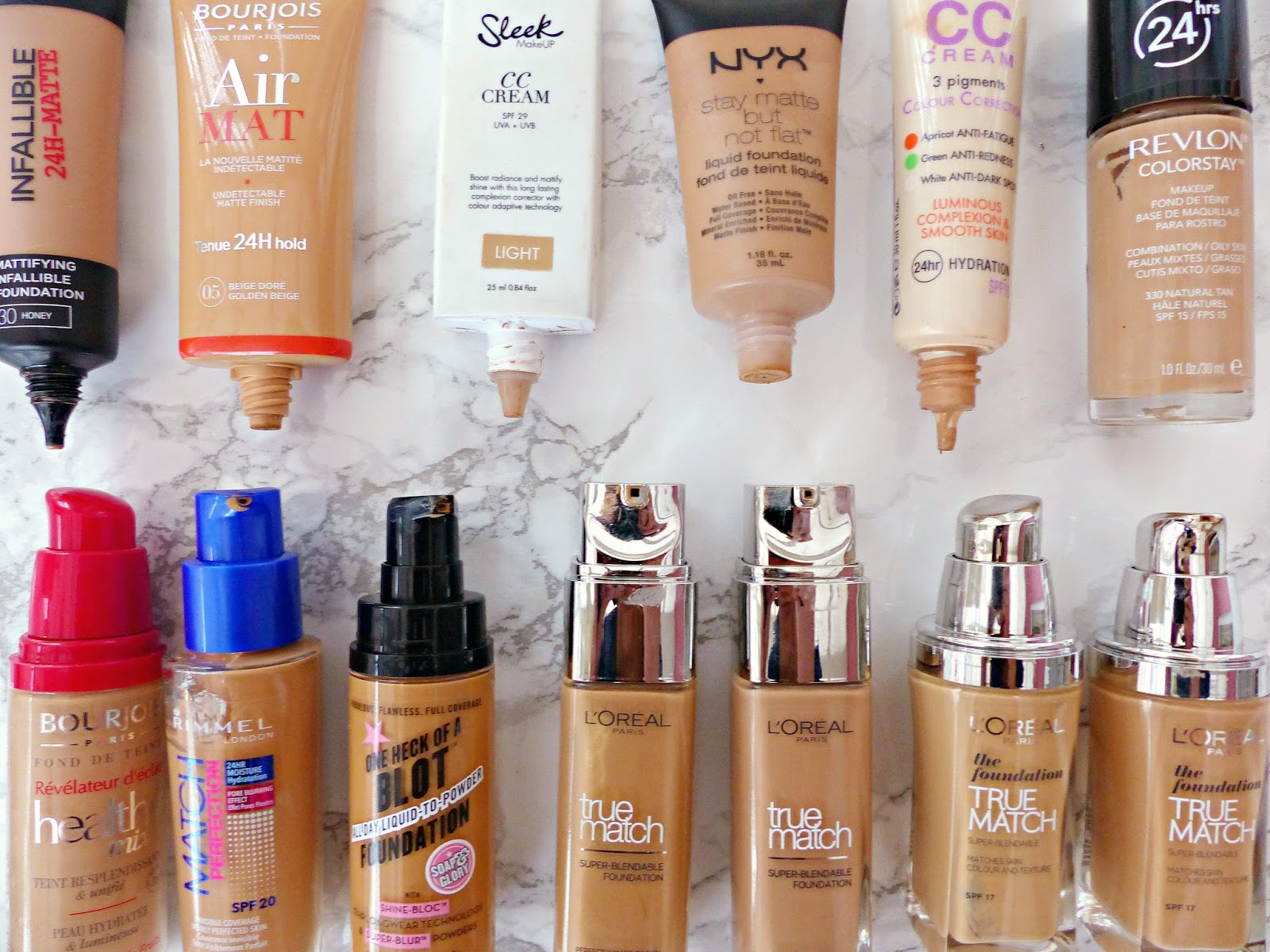 how to choose foundation shade in drugstore