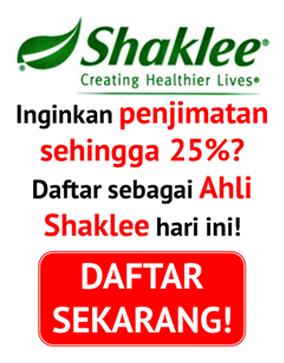Nak beli Shaklee Harga Ahli? Click sini