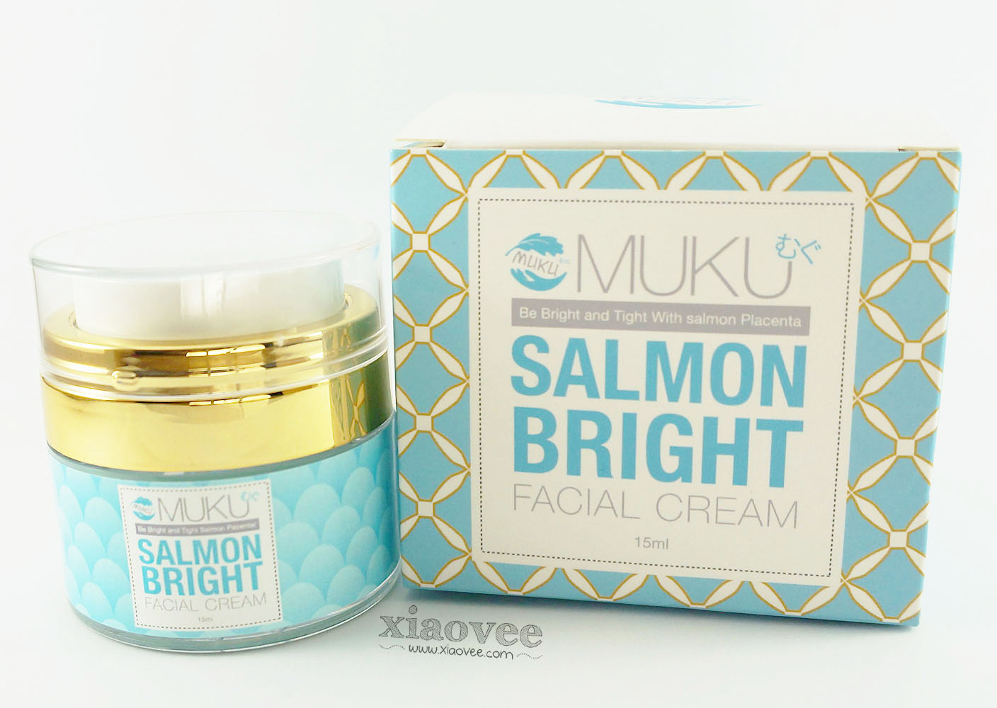 Salmon Bright Facial Cream by MUKU