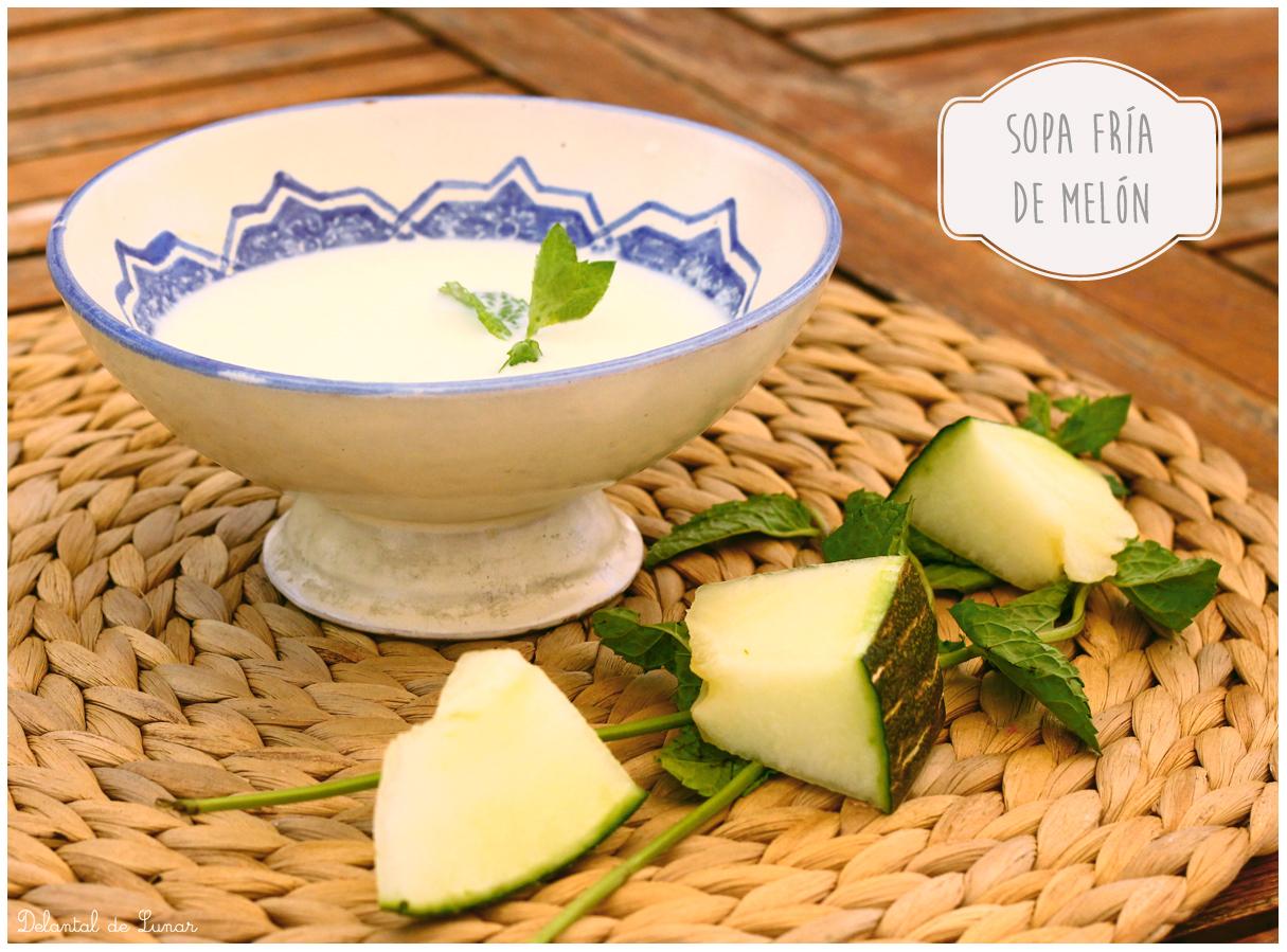 Foto: Sopa de melón