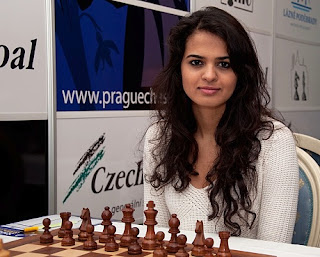 Échecs à Prague : Tania Sachdev © site officiel