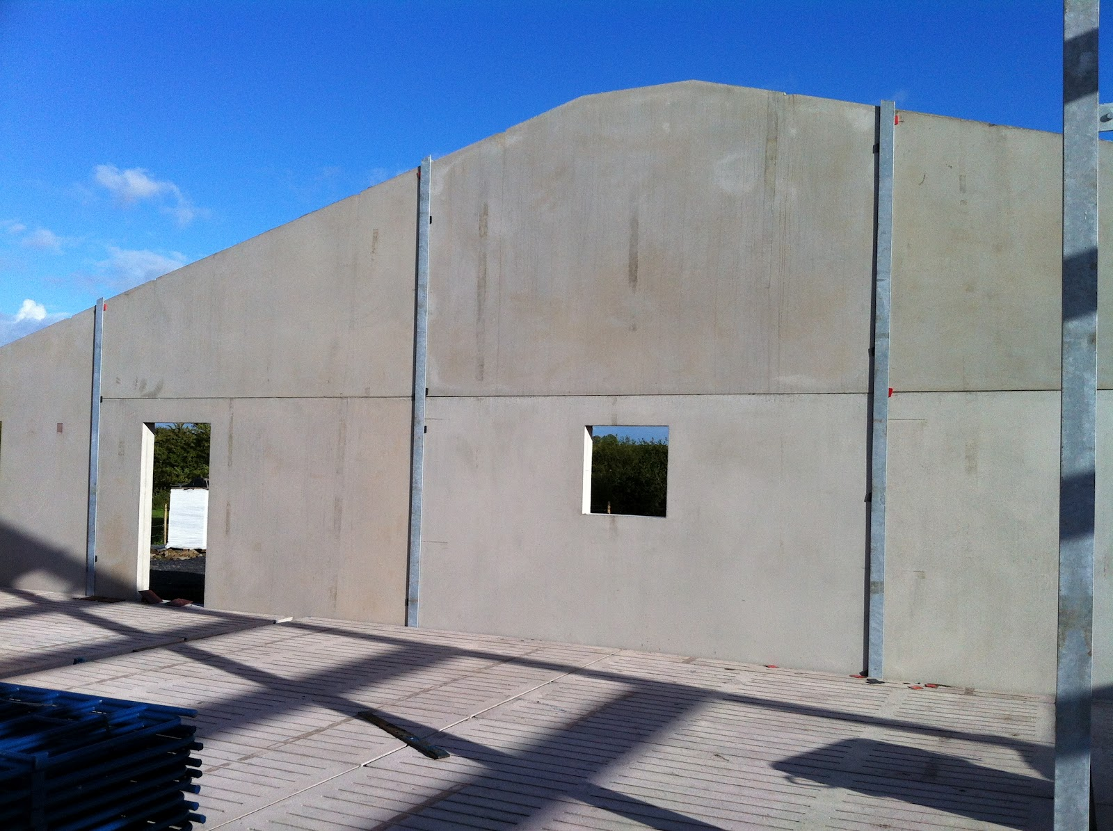 Wright quarry products monaghan concrete wall panels - Precast concrete houses ...