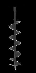 Broca barreno ahoyador 15 cm