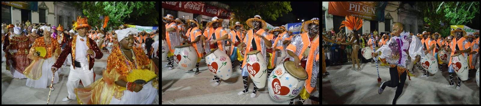 Carnaval. Desfile de Llamadas. Sarabanda.