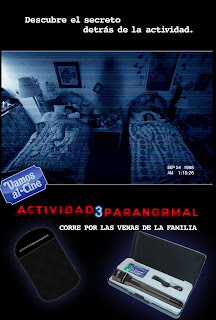 premios Ganadores del Concurso: Actividad Paranormal 3