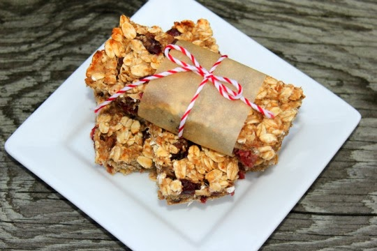 Low-fat Granola Bars